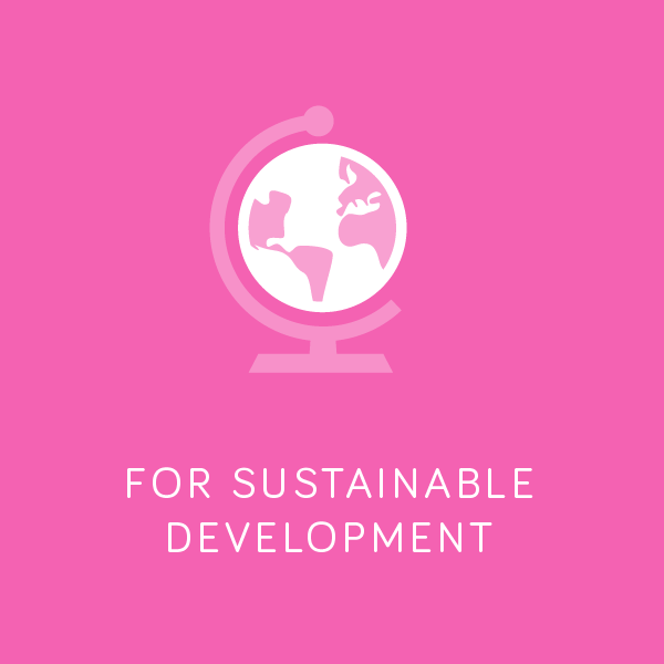 For Sustainable Development